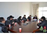 利通生物技术(上海)有限公司客商到石关考察芥末和蓝莓种植项目