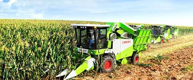 Chery  Corn Harvester