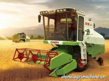 Chery 4LZ-3 Wheat Harvester