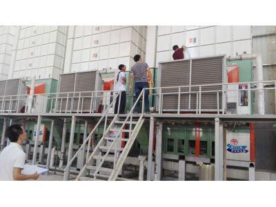 鄱阳县:组织农机站、计财股、乡镇综合站对烘干机进行实地核实验收