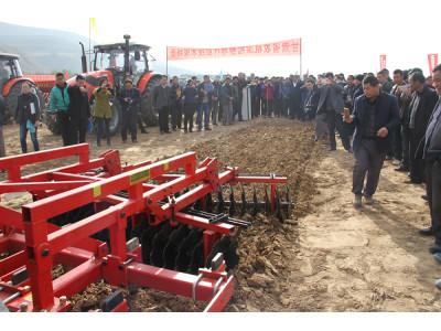 甘肅召開全省農機深松整地暨中藥材生產全程機械化現場會