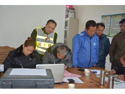 富川县农机局稳步开展2017年农机年检审工作