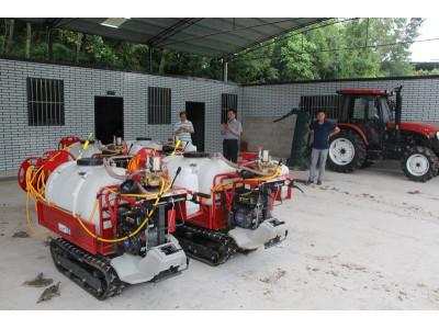 万州区:机械化果园高效农机示范项目完成验收