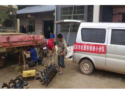 抚州市东乡区:全力开展灾后农机检修维护工作