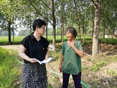 蒙城县:立仓镇访特色奖补户推进产业扶贫项目