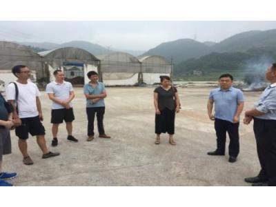 重庆:丰都县到涪陵考察学习涪陵区农机专业合作联社