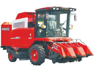 中联收获4YZ-3W自走式玉米收获机