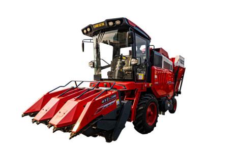 电竞收获2021款4YZ-3W自走式玉米收获机
