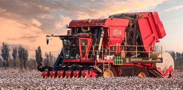 新疆棉机收率已超过60%,国产采棉机贡献大!