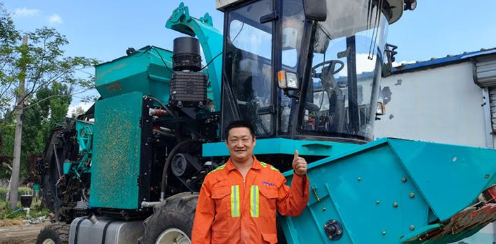 赵延伟:规模化养殖场需要高端青饲料,高北M2000是我的首选